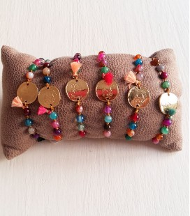 PULSERA COLOR MONEDA MINI