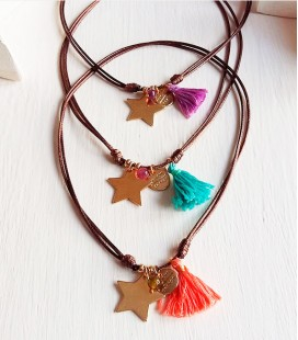 COLLAR MEDALLA STAR