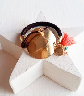 PULSERA MONEDA STAR