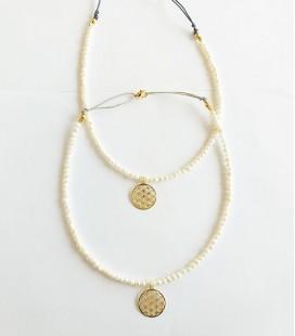 Collar perlas estrella de mar