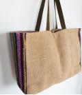 Bolso cuzco arpillera