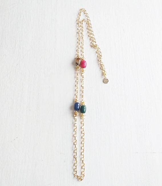 Collar cadena Stone