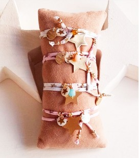 PULSERA TELA LIBERTY STAR
