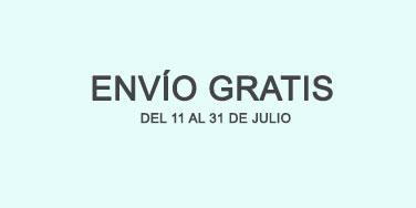 Gastos de envío gratis hasta el 31 de julio