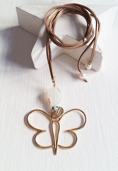 Collar mariposa Charlotte Design