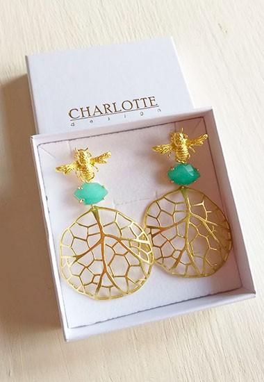 Charlotte design slider pendientes