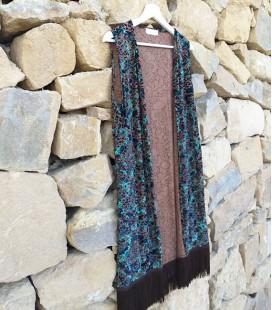 Chaleco Italian velvet